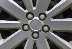 Car alloy rim Stock Photography