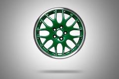Car alloy rim stock images