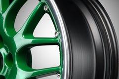 Car alloy rim royalty free stock photos
