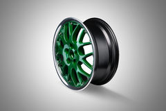 Car alloy rim royalty free stock images