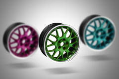 Car alloy rims Royalty Free Stock Images