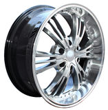Car alloy wheel Royalty Free Stock Photo