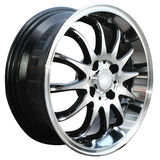 Car alloy wheel Stock Photos