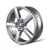 Car alloy wheel Stock Image