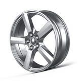Car alloy wheel. On white background royalty free illustration