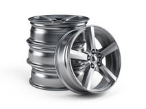 Car alloy wheels Royalty Free Stock Image
