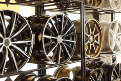 Car alloy wheels Stock Image