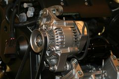 Car alternator Stock Photo