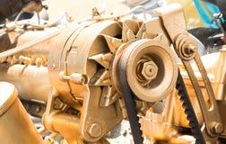 Car alternator, Converting Mechanical Energy to Electrical Energ Royalty Free Stock Photo