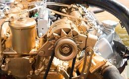 Car alternator, Converting Mechanical Energy to Electrical Energy Inside a Car. Car alternator, Converting Mechanical Energy to Electrical Energy Inside a Car stock photo