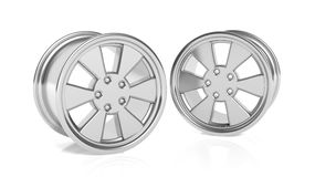 Car aluminum alloy rims Royalty Free Stock Image