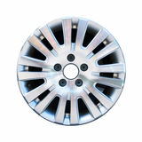 Car aluminum wheel rim isolated on white Stock Photography