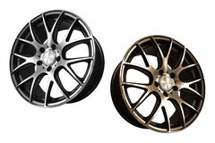 Car aluminum wheel rims Royalty Free Stock Photography