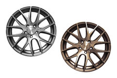 Car aluminum wheel rims Stock Image