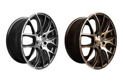 Car aluminum wheel rims Stock Photography