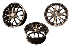 Car aluminum wheel rims Royalty Free Stock Photos