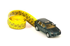 Car And Roulette-line Stock Photos