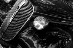 Car Antique Black Royalty Free Stock Photography