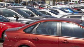 Car array Royalty Free Stock Images