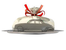 Car as a gift Royalty Free Stock Photos