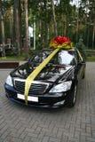 The car as a gift Royalty Free Stock Photos