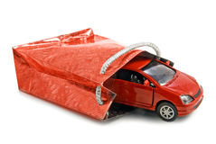 Car as Gift concept Stock Image