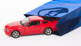Car as a gift concept Stock Image
