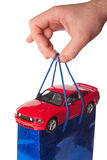Car as a gift concept Royalty Free Stock Photo