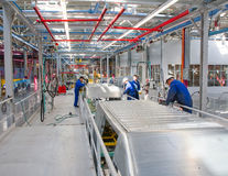 Car assembly line Ford Sollers Royalty Free Stock Photos