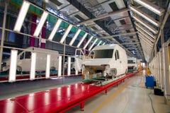 Car assembly line Stock Photos