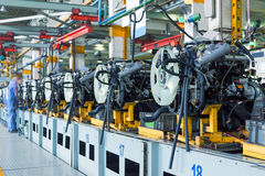 Car assembly plant Stock Photography