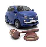 Car auction Royalty Free Stock Images