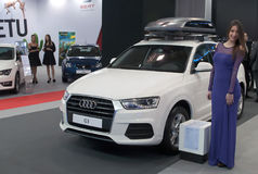 Car Audi Q3 Stock Image