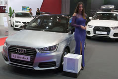 Car Audi A1 sportback Stock Photo