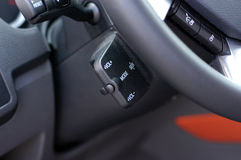 Car audio control buttons Stock Image