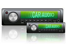 Car audio icon Stock Photography