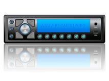 Car audio icon Stock Photo