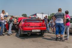 Car audio show. Stock Images