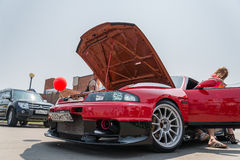 Car audio show. Royalty Free Stock Photography