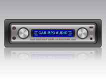 Car audio system icon Royalty Free Stock Photos