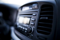 Car Audio System royalty free stock photo