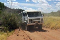 Car in Australian desert Stock Image