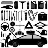 Car Auto Accessories Repair Tool Royalty Free Stock Photos