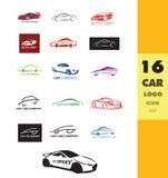 Car auto logo icon. Vector company logo icon element template car shape set auto service Stock Photo
