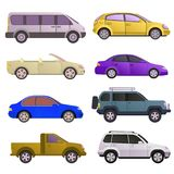 Car auto vehicle transport type design travel race model technology style and generic automobile contemporary kid toy Stock Image