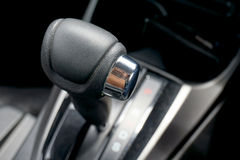 Car Automatic Gear Shift. Automatic gear shift of a sedan car royalty free stock image