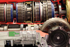 Car automatic gear transmission royalty free stock image