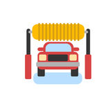 Car automatic wash icon Royalty Free Stock Images