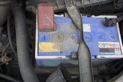 Car automobile battery service positive sign concept Stock Photography