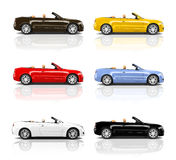 Car Automobile Contemporary Drive Driving Vehicle Transportation Stock Images
